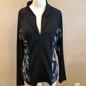 NWOT Jessica Simpson the warm-up hoodie front zip